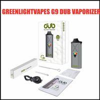 GreenlightVapes G9 Dub Buharlaştırıcı Kuru Herb Için 1100 mAh Pil Bitkisel Vape Kalem C tipi C USB Şarj Haptic Geribildirim