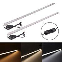 LUCES DE BARRAS USB 5V LED LIGHT FRIET 5630 Lámpara de tubo duro con interruptor de encendido / apagado Frío blanco / blanco cálido / blanco natural