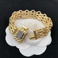 Link, Chain Luxury Jewelry Women Perfume Bottle Design Bracelet   Earrings Gold Chunky Party Accessories