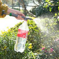 دليل ارتفاع ضغط مضخة الهواء بخاخ تعديل شرب زجاجة رذاذ رئيس فوهة حديقة سقي أداة أدوات الزراعة