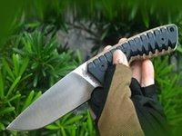 Miller Bros Top Quality Fixed Blade Knife DC53 Blades CNC Black G10 Handle Knives Outdoor Camping Tactical Gear vacuum heat treatment Utility EDC Tools with scabbard