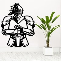 Wall Stickers Luxuriant Warrior Sticker Waterproof Wallpaper Home Decor For Baby Kids Rooms Mural Poster