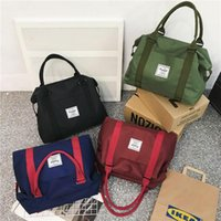 Duffel Bags Waterproof Travel Bag Hand Large-Volume Short Trip Luggage Sports Gym Oxford Cloth Yoga Women's