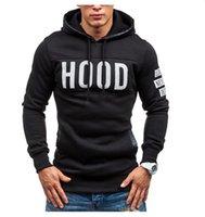 Active Hooded GYM Hoodies HOOD Sportswear Print Slim British Mens Fashion Pollover Tshirt Casual Sweatshirts Long Letter Sleeve Vqkdq