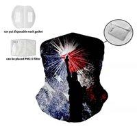 الولايات المتحدة ثلاثية الأبعاد الطباعة تنوعا PM2. 5 Magic Headscarf قناع قبعة الغبار في الهواء الطلق الألعاب