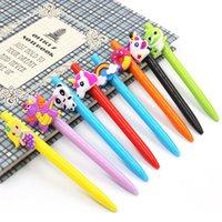 Pen Nouveau Licorne Multi Color Ballpoint Creative Creative Creative Creative Dessin animé Student Gel