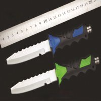 Diving Knife The Leggings Straight Knives Outdoor Small fruit Cutter Survival Straight Knife