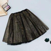 Saias Jaycosin Skirt Feminino 2021 Moda Womens Paillette Elastic 3 Camadas Adultas Curtas Tutu Dancing 5.7
