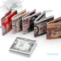wallet Creative short-printed printing pattern mens wallet purse cat coin purse coin purse designer mens wallet kardashian kollection