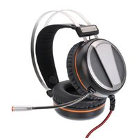 Vamery G601 virtual 7.1 RGB Colorido sonido envolvente Efecto de sonido USB Auriculares de juego con micrófono de plata gris