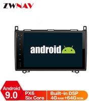 Joueur Android 9 IPS PX6 HD Écran DSP pour une close B Sprinter Vito 2006-2012 Car DVD GPS GPS Multimédia Radio Audio Navigation