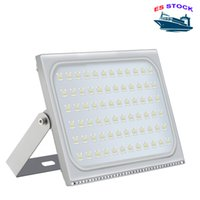 ES Bourse d'éclairage extérieur LED projecteurs AC110V / 220V IP65 imperméable adapté à l'entrepôt, garage, atelier d'usine, jardin