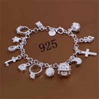 حديثا وصول الأزياء النسائية سحر سوار الإسورة مطلي الفضة جميل سلسلة سوار مجوهرات 1128 Q2