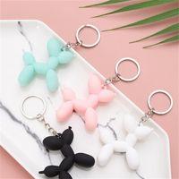 الأزياء مفتاح سلسلة لطيف بالون الكلب المفاتيح مجوهرات زوجين كيرينغ الكرتون الإبداعية حقيبة الهاتف المحمول سيارة قلادة مرحة سلاسل المفاتيح 3286 Q2