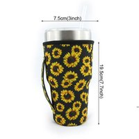 Tumbler Anti-scald Carrier Holder Pouch Neoprene Insulated Sleeve Bags Case 30oz Tumbler Coffee Cup Water Bottle Holder FWE6628