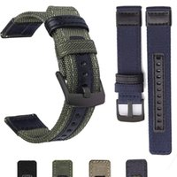 Watch Bands Nylon Strap For Samsung Galaxy 4 40mm 44mm Sports Bracelet Band Classic 46mm 42mm Outdoor Man Duarble