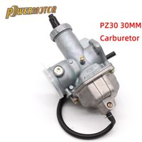 PowerMotor 30mm Carb PZ30 Karbüratör Güç Jeti 200CC 250cc Motocross Pit Kir Bisiklet ATV Motosiklet Yakıt Syst için Pompa Karbüratör