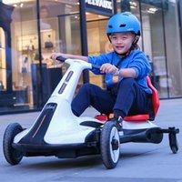 مجموعات هدية في الرياضة في الهواء الطلق ألعاب usb أربع عجلات eletric سيارة دراجة 12V7A محرك مزدوج 550 موتورز الموسيقى الأزرق الأسنان ضبط mp3 الانجراف سيارة الطفل