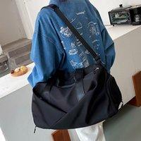 Duffel Bags Fashion Fitness Travel Bag Women 2021 Summer Oxford Cloth Waterproof Yoga Gym Sport Large Capacity Crossbody Handbag