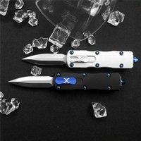 Mini LUTD Combat UT85 UT121 Automatic Knife HellHound Tanto D2 Blade Self Defense Hunting Pocket Survival Knives BM 3300 3400 4600 Godfather 920 knifes