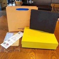 디자이너 클러치 백 여성과 남성 클래식 오래 된 꽃 인쇄 갈색 가죽 핸드백 지갑 유명한 브랜드 망 서류 가방 럭셔리 백