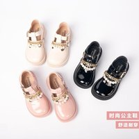 Flat Shoes Children's Genuine Leather Spring Autumn Summer Sandal Fashion Super Soft Comfortable Girls 26-36 Years Old