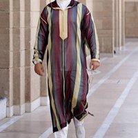 Men's Casual Shirts Islamics Clothing Men Length Long Sleeve Loose Muslims Saudi Arabia Pakistan Costumes Dress Kaftan Tho