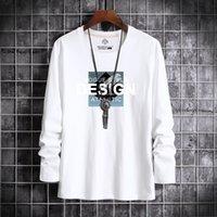 T-Shirt T-shirt a maniche lunghe t-shirt rotonda NE e inverno Abbigliamento uomo Abbigliamento uomo con rivestimento in basso Autunno