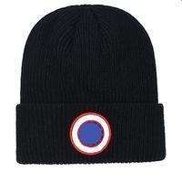 Мужчины Beanie роскошный унисекс вязаная шапка Gorros Connet Canada Knit Hats Clankics Sports Skull Caps Женщины повседневные наружные шапочки гусиных шапов