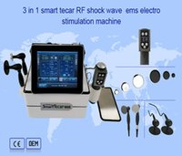 Professional Health Gadgets Multifunction 3 IN 1 Smart Tecar EMS Shock Wave Therapy Machine For Physiotherapy Fat Loss and Pain Relief,ED treatment
