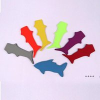 Shark Shaped Popsicle Holders Ice Lolly Bag Sleeves Cover Popsicle Holder Summer Ice Cream Tools Ice Pop FWB6218