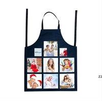 Sublimation Leerzeichen Küchenschürze DIY Weiß Alle Jahreszeiten Ölfest Antifouling Canvas Uniform Schal Druck HWF7545
