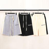 2021 Знаменитые парикмахерские спортивные штаны женские летние короткие штаны мода письмо вышитые мужские оптовые шорты размер S-3XL