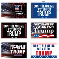 2024 Donald Trump Flag 3*5ft DON'T BLAME ME I Voted For Trumps Banner Flags American Presidential Campaign HH21-359