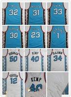 Nuovi uomini Donne Bambini Pallacanestro East 1996 Star Jersey31 Miller 33 Ewing 50 Robinson 30 Pippen O Neal Kemp Hill Stockton 23 Retro Jersey