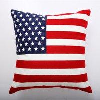Cushion Decorative Pillow GYK115-Flag Cushion Case (No Filling) 1PC Polyester Home Decor Bedroom Decorative Sofa Car Throw Pillows