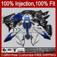 Injection Mold Fairings For BMW S-1000RR S 1000RR 1000 RR S1000-RR 09-14 19No.23 S1000RR 09 10 11 12 13 14 S1000 RR Stock blue 2009 2010 2011 2012 2013 2014 OEM Bodys Kit Red