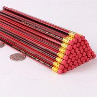 Bleistifte rot schwarz gestreifter roter rod kinder hb bleistift klassisch film rote malerei skizze holzstift einzelner preis