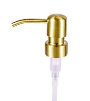 28/400 Vendita all'ingrosso Distributore di sapone BRONZO BRONZO RUTUR RUST 304 Pompa liquida in acciaio inox per cucina Bagno Jar non incluso GWD9421