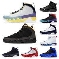 Nike Air Jordan Retro 9 Jordans 9s Scarpe da basket da uomo Jumpman AJ XI Change The World University Gold Gym Red IX UNC Racer Blue Space Jam Scarpe da ginnastica sportive da uomo