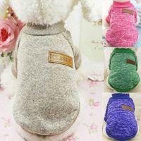 Classic Dog Apparel warm Clothes Puppy Pet Cat Sweater Jacket Coat Winter Fashion Soft
