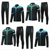 2021 Napoli Eşofman Ceket Hoodie Futbol Jersey Zielinski 2022 SSC Napoli Uzun Fermuar Seti Veste Suit