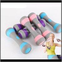 FDBRO Ev Egzersiz Ayarlanabilir Ağır Kauçuk Yoga Küçük Dambıllar Kol Bayanlar Fitness Spor Salonu Ekipmanları DPKAT ACEVW