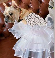 Latest Letters Dogs Cats Dress Summer Autunm Mesh Dog Apparel Comfortable Chihuahua Bulldog Bichon Schnauzer Puppy Outerwear Pets Jacket