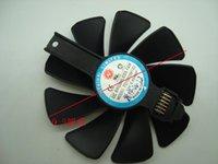 Оригинал для Sapphire RX5700XT RX5700 Графика Видеокарта Охлаждающий вентилятор FDC10H12D9-C FD10015M12D Вентиляторы Охлаждения
