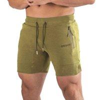 Yemeke Moda Hombres deportivos Pantalones cortos de playa Pantalones 2019 Culturismo Sweetpants Fitness Breto Jogger Casual gimnasios hombres pantalones cortos X0601