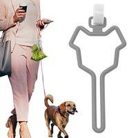Dog Apparel Waste Bag Dispenser For Carrier Pet Supply Accessories Leash Clean Tools Poop Holder Hands Free