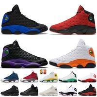 nike air jordan 13 retro 13 13s stock x 2020 Formateurs Jumpman 13 Hommes Femmes Chaussures de basket-ball Flint 13 Hyper Roya 13s Bred Chaussures de sport rétro Starfish