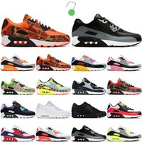 2021 Mode 90 Menshoes Runing Chaussures Femmes Sports Sneakers 90s Essential Hyper Hyper Cépage Royal Vert Bleu Fury White Criane Tran-Trianers 36-45