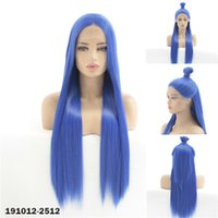 Synthetic Lacefrontal Wig Simulation Human Hair Lace Front Wigs 12~26 inches Perruques de cheveux humains Pelucas 191012-2512